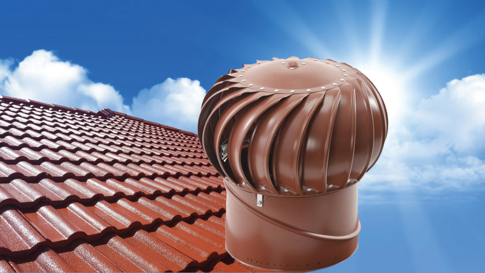 Whirly Bird Roof ventilation